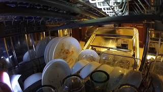 Whirlpool TotalCoverage Dishwasher - Full Load Interior View