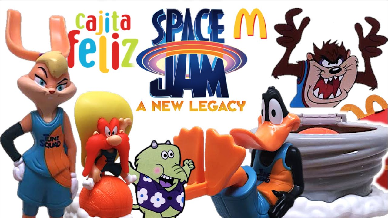 Cajita Feliz SPACE JAM 2: Una Nueva Era (Parte 2) | McDonald´s Colección Julio 2021 - TOY SHOTS