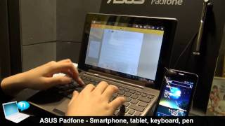 Asus Padfone: smartphone, tablet, keyboard and pen