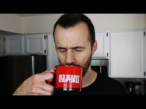 Rockstar Red Dead Redemption 2 Package Unboxing + Pour Over Coffee Tutorial