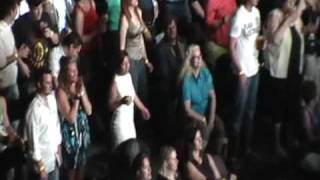 Dude rocking out at Fleetwood Mac Concert