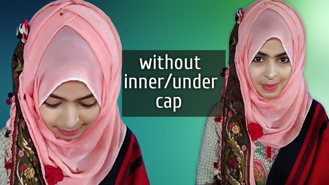 Semi Criss Cross Hijab Style Without Inner Cap By Safrin Prity