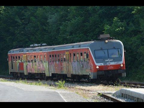 Wocheinerbahn in Slowenien Mitfahrt
