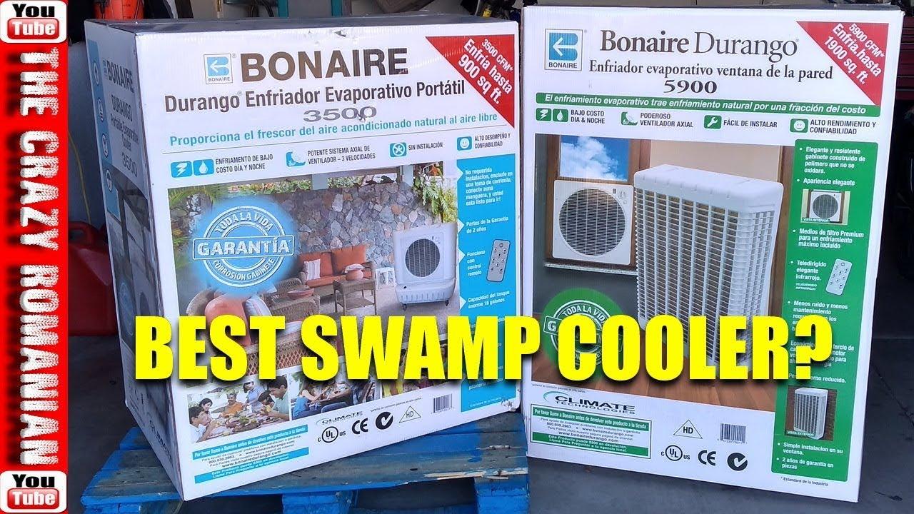 Best Evaporative Swamp Cooler on the market - Window unit - Bonaire 5900 or  3500 reviewed