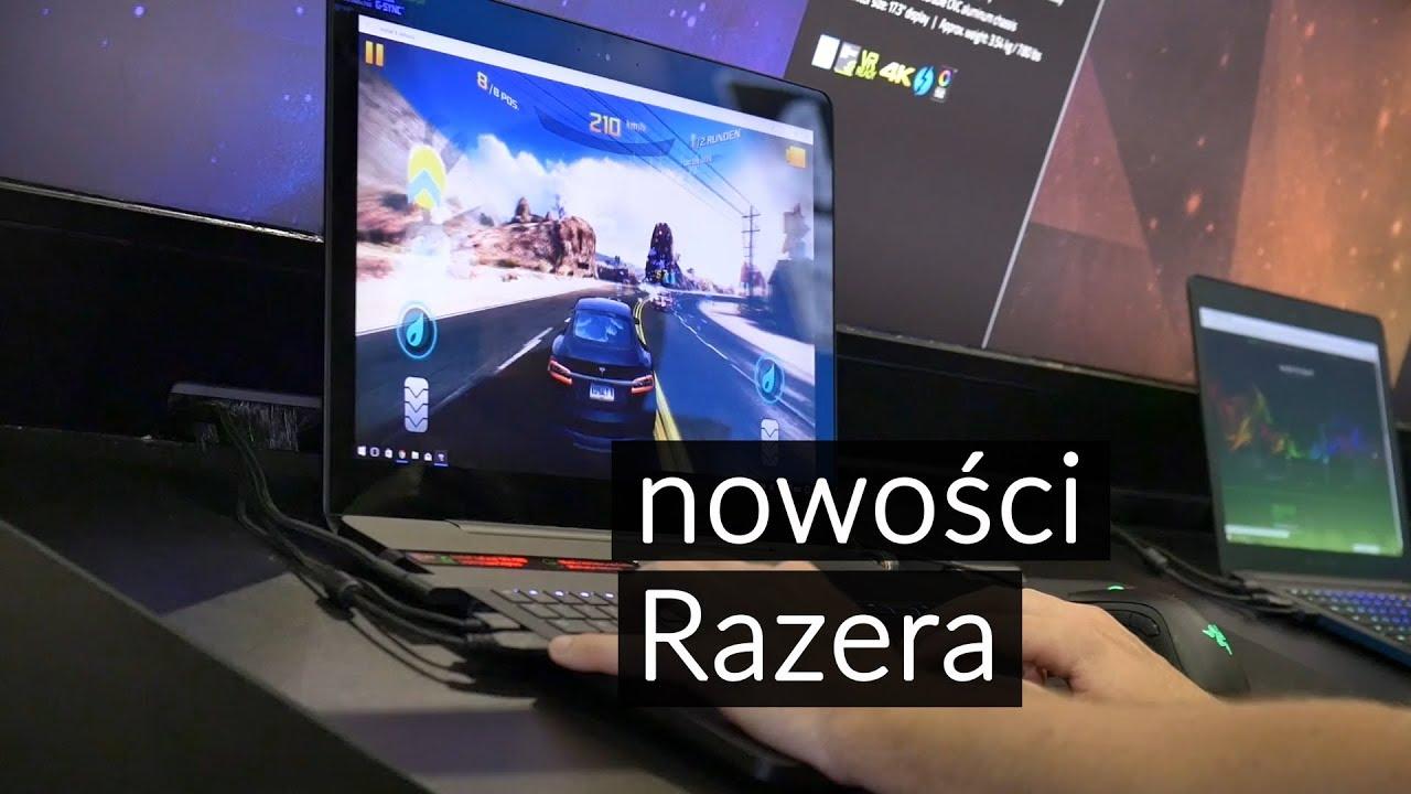 Basilisk i Blade Pro - nowości dla graczy od Razera