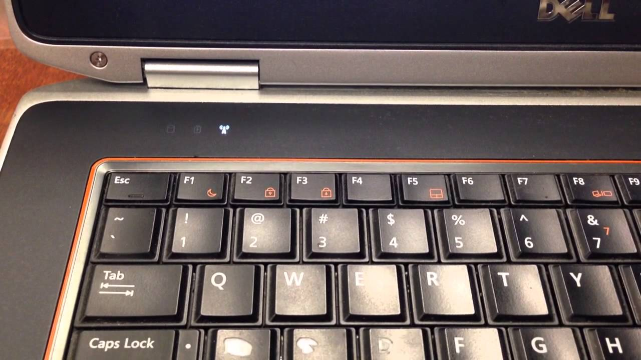 Dell Latitude E6420 Battery Light Flashing Orange Youtube