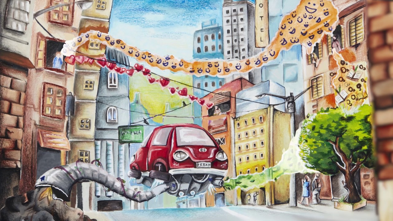 The 11th Toyota Dream Car Art Contest Winning Artworks The Recycle