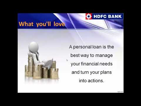 HDFC Bank Personal Loan, Apply for HDFC Bank Personal Loans Online in India – Logintoloans - YouTube