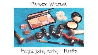 Pierwsze wrażenie - Makijaż jedną marką - PuroBio