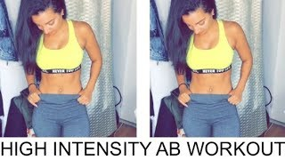 Shredded Abs | High Intensity Ab Workout