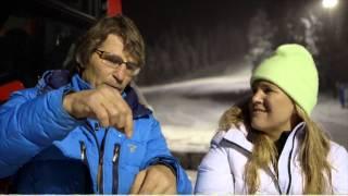 Anja snöar in, Del 1: SVT