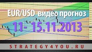EURUSD прогноз (11-15 ноября 2013) / недельный евро-доллар обзор