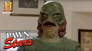 Pawn Stars: Life-Size Creature from the Black Lagoon Replica | History