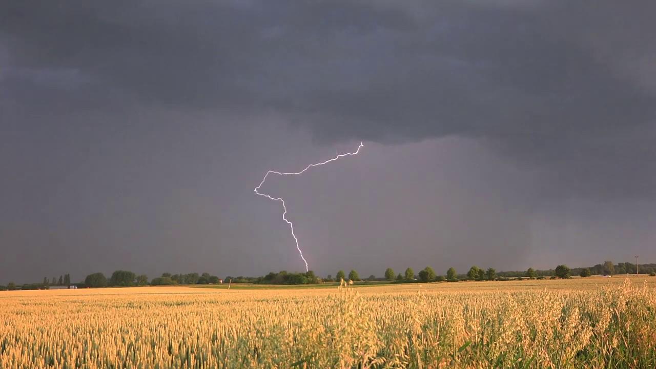 Blitze über Bergheim 3.6.2019