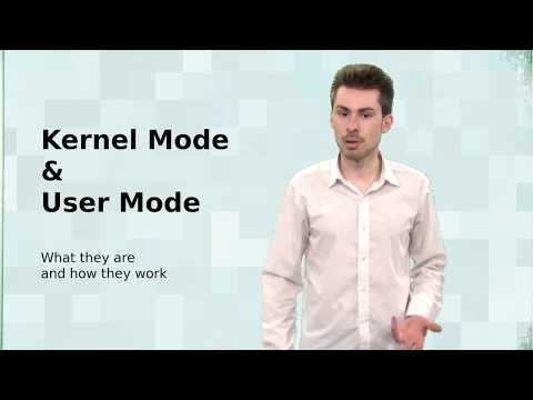 Operating Systems; Kernel Mode And User Mode