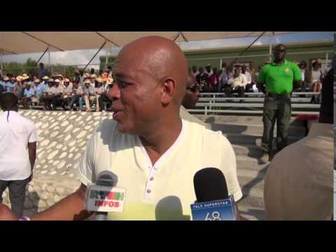Tele Superstar 68: Lycée Jean-Baptiste Pointe du Sable Inauguration Ceremony