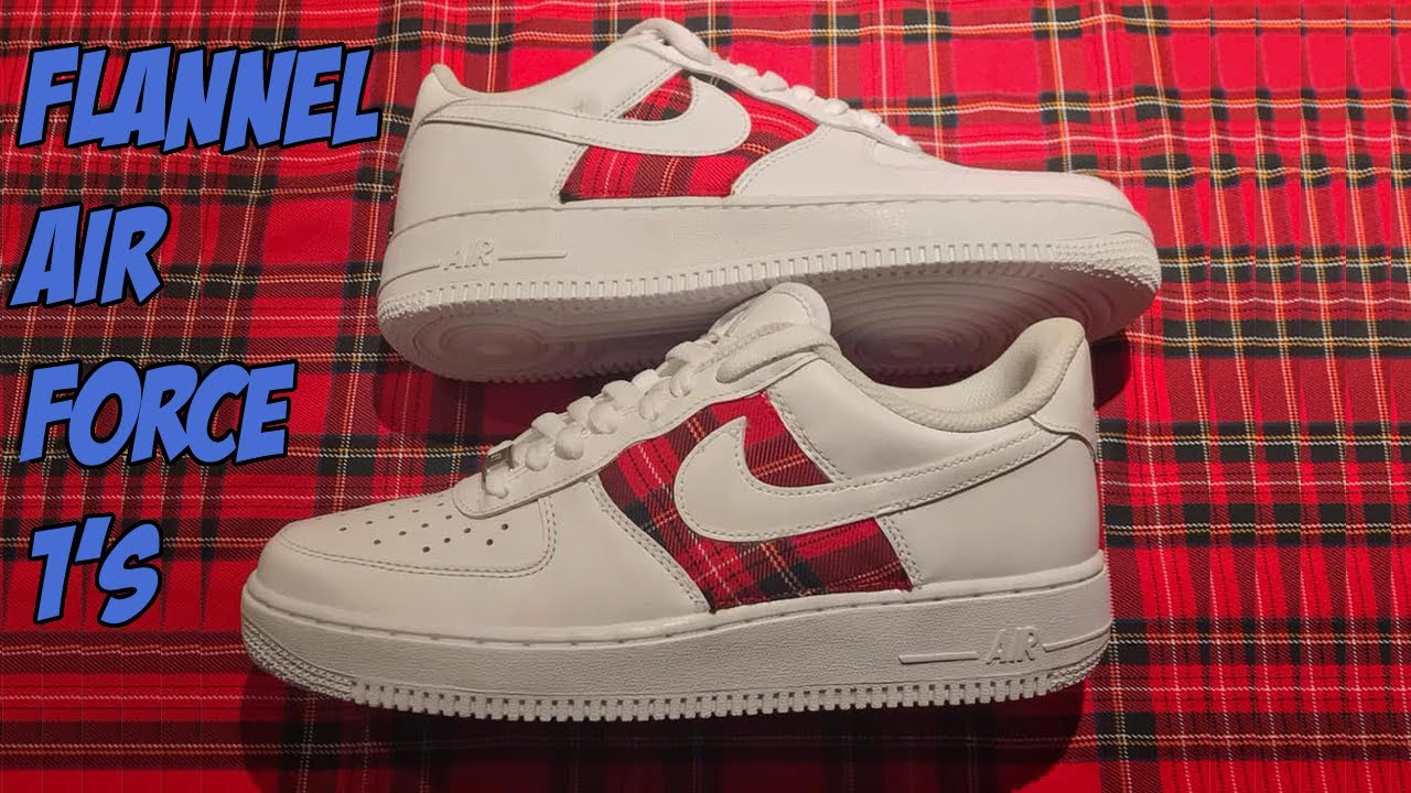 Complete Custom   CDG Nike Air Force 1's made by Khameleon