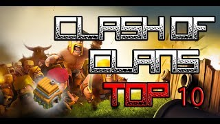 CLASH OF CLANS : TOP 10 MUNICIPIO LV.6