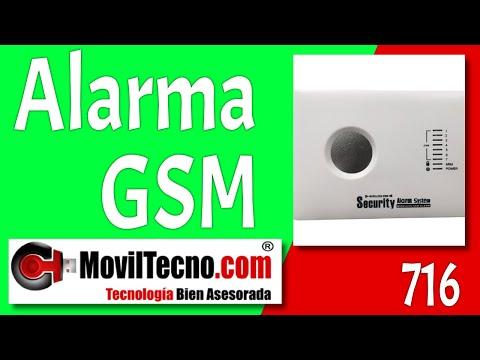 Alarmas para Casa GSM sin cuotas en MovilTecno.com