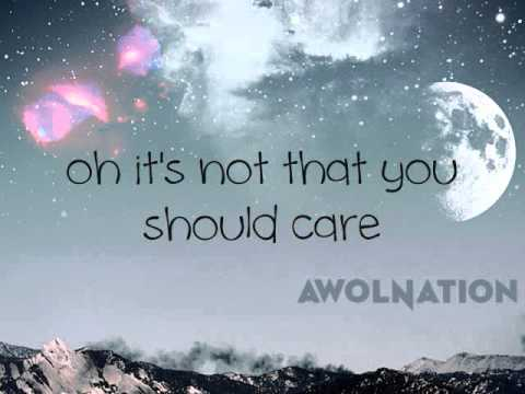 Not Your Fault - AWOLNATION (w/ Lyrics)