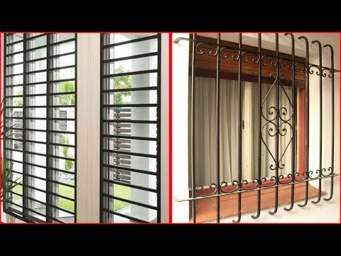 Latest Modern Window Grill Ideas So Innovative / Grill Designs