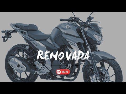 Nova Fazer 250 2018 com ABS | Conheça os Detalhes
