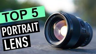 BEST 5: Portrait Lens 2018