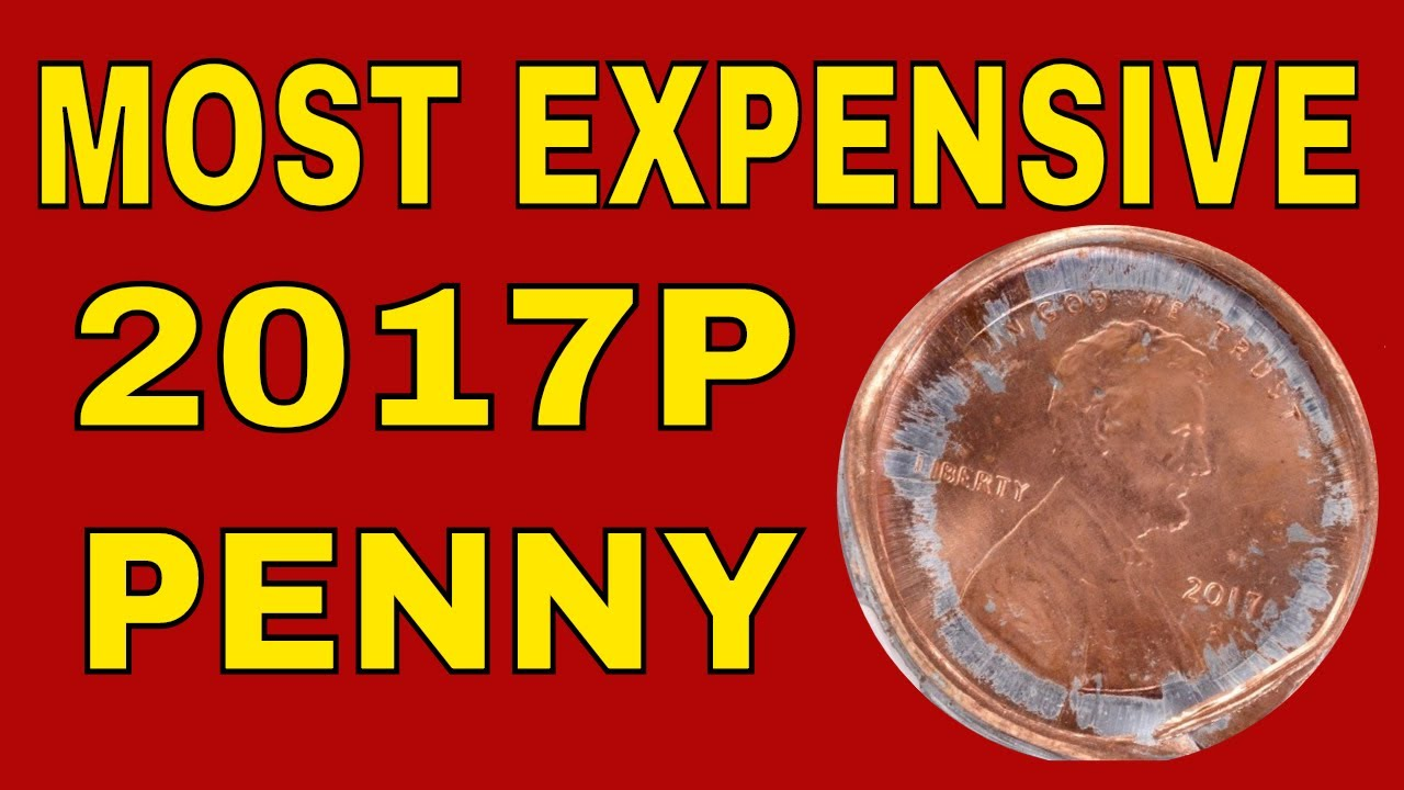 The most valuable 2017P rare penny to look for!! Rare pennies worth money!