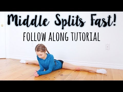 How To Do The Middle Splits