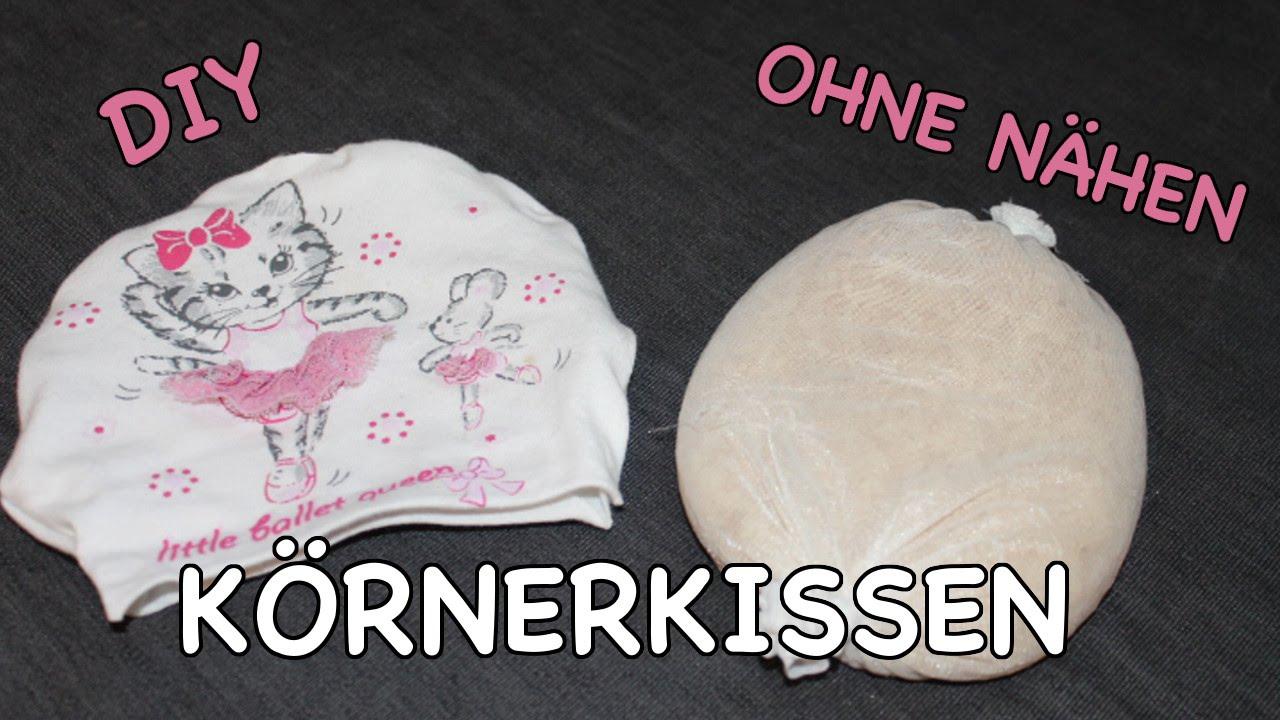 Gut bekannt DIY KÖRNERKISSEN OHNE NÄHEN - schnell & kostenlos!!! Wärmekissen LG95