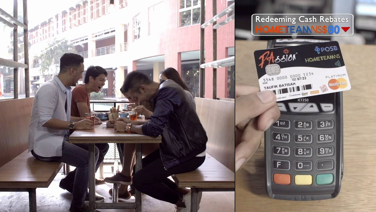 The One Card You Need -  HomeTeamNS-PAssion-POSB Debit Card!