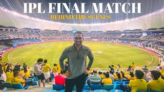 IPL FINAL MATCH 🧿 BEHIND THE SCENES 🇦🇪