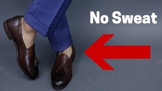 How To Avoid Sweating When Going Sockless