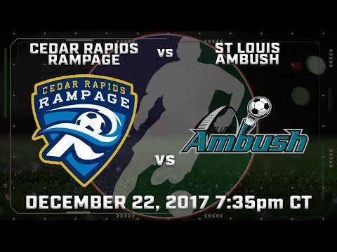 Cedar Rapids Rampage vs St Louis Ambush