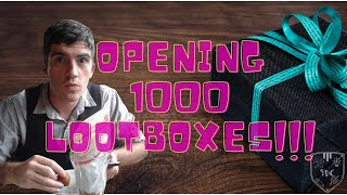 Opening ONE THOUSAND LOOT BOXES!!!!
