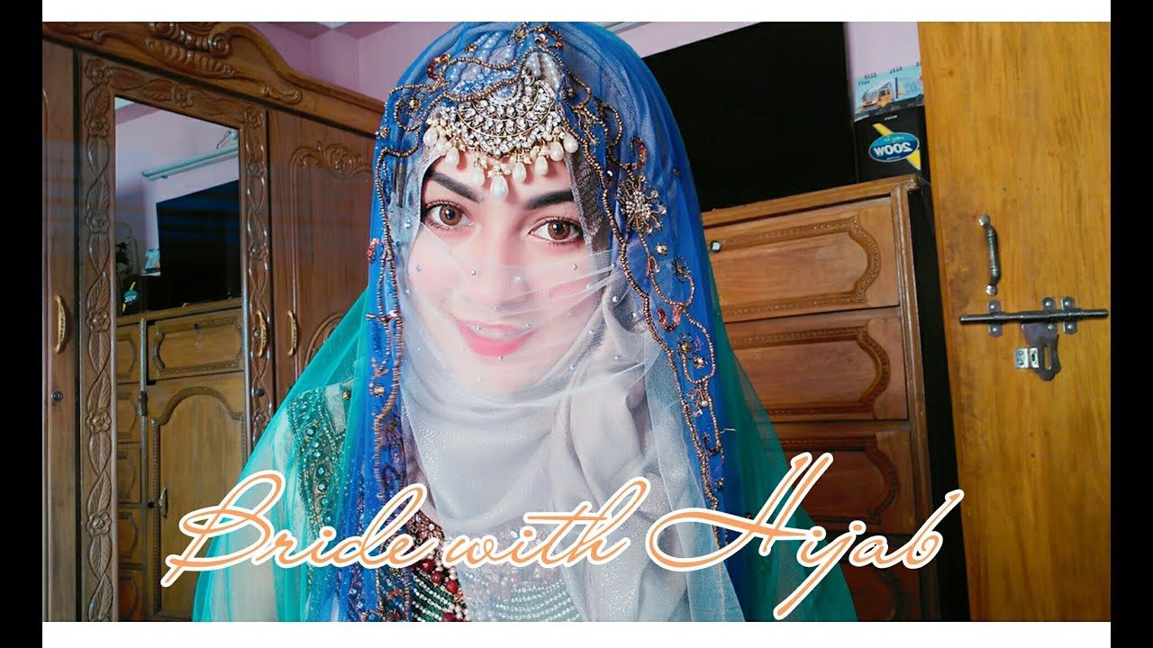 Wedding Bride Hijab Style Parizaad Youtube