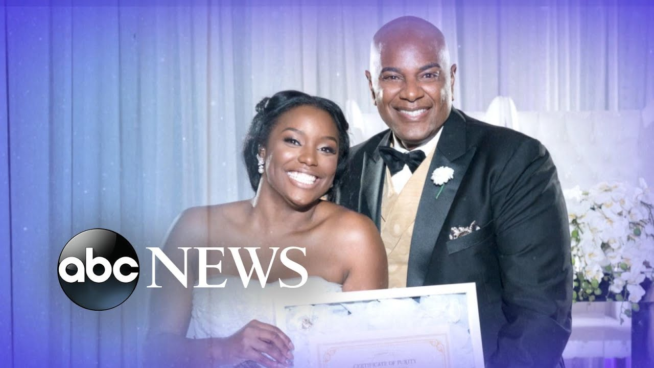 Bride surprises pastor father with purity certificate youtube xflitez Choice Image