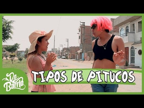 TIPOS DE PITUCOS   DeBarrio