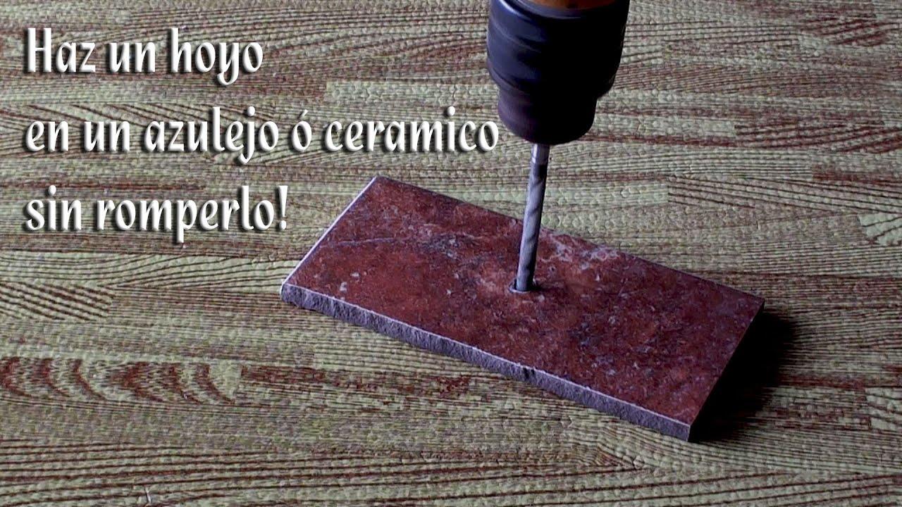 Como hacer un hoyo a un azulejo ó ceramico sin romperlo ó astillarlo ... 765c8556e929