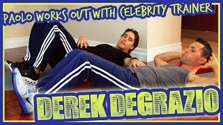 Work Out Tips From Britney Spears Trainer Derek DeGrazio