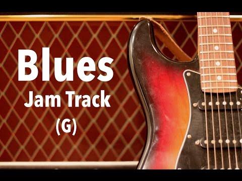 Blues Shuffle Backing Track (G)