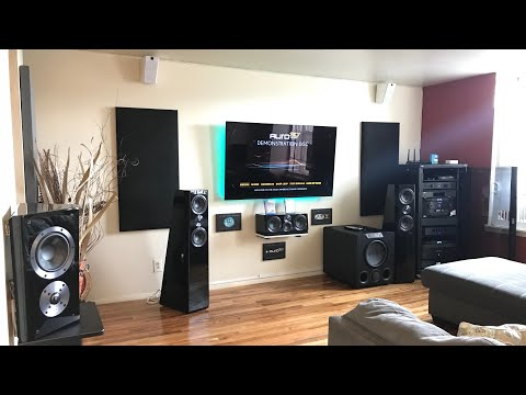 SVS HOME THEATER  7.1.4 DOLBY ATMOS , AURO 3D 10.1 WITH VOICE OF GOD AND  DTS-X