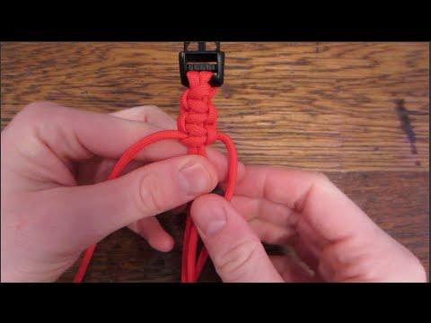 Easy Paracord Bracelet Tutorial!