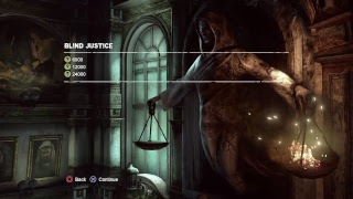 Batman arkham city Robin Blind justice combat challenge