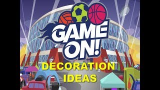 VBS 2018: Game On Decoration Ideas
