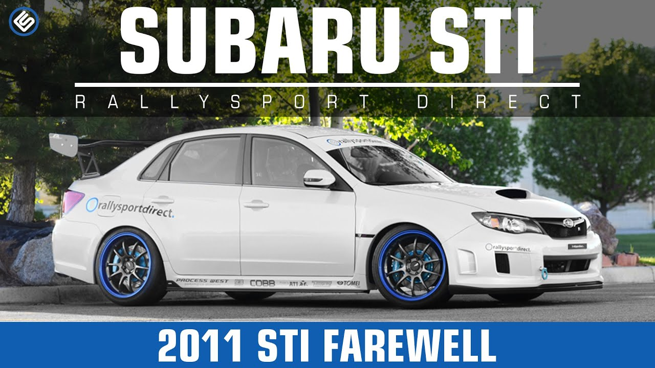 RallySport Direct's 2011 Subaru Impreza WRX STi Goes Bye-Bye!