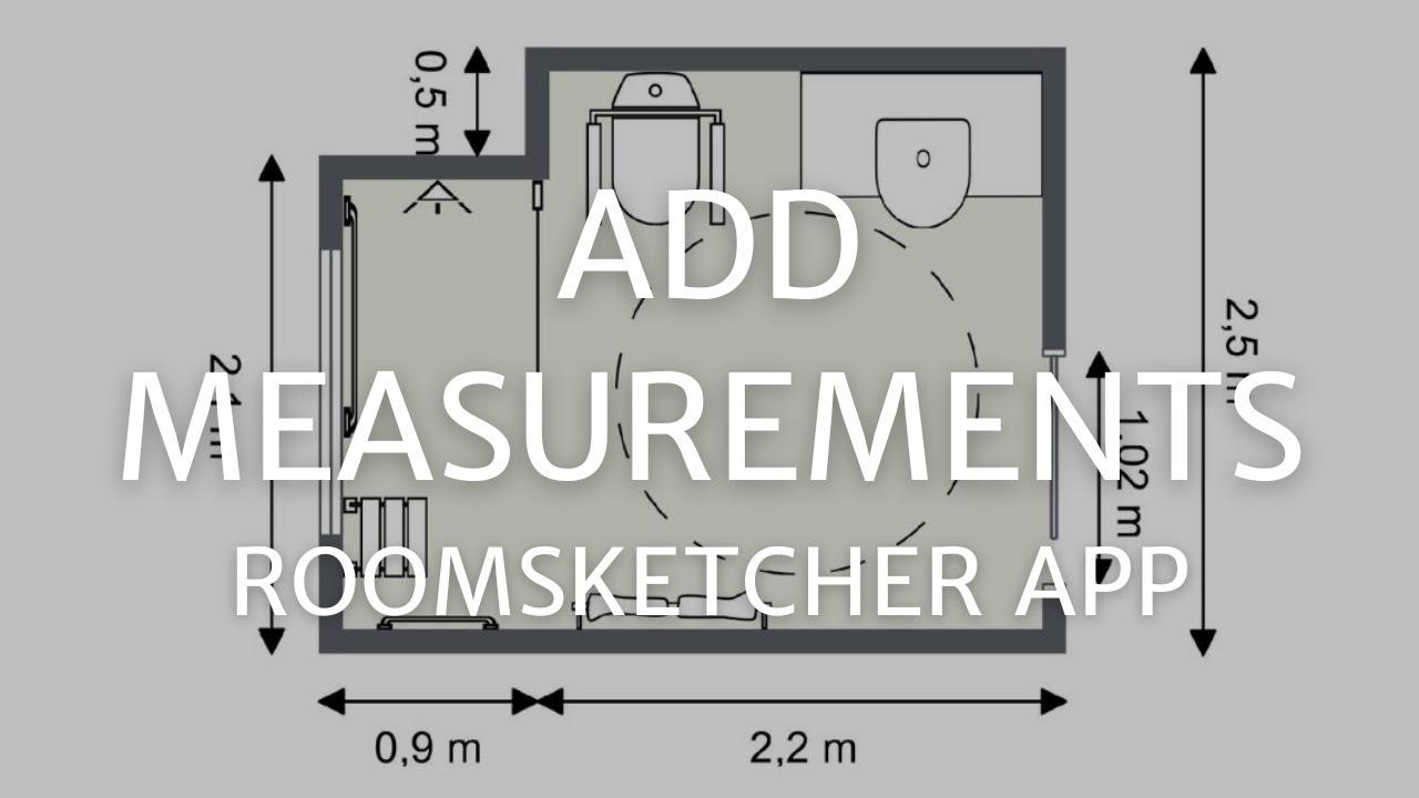 Add Measurements - Home Designer App - YouTube