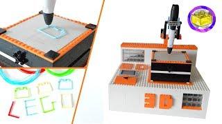 lEGO 3D Printer  Robotic 3D Machine