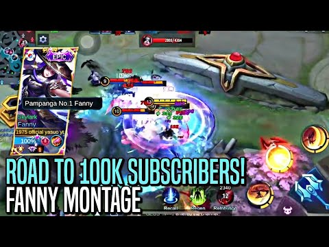 90K SUBSCRIBERS SPECIAL FANNY MONTAGE   AGGRESSIVE MONTAGE   MLBB