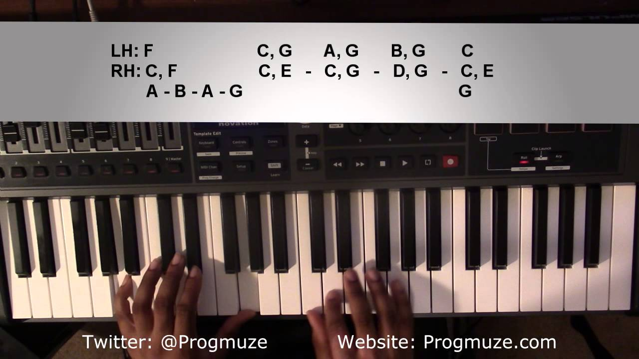 Download Piano Lesson   Justin Bieber   Purpose